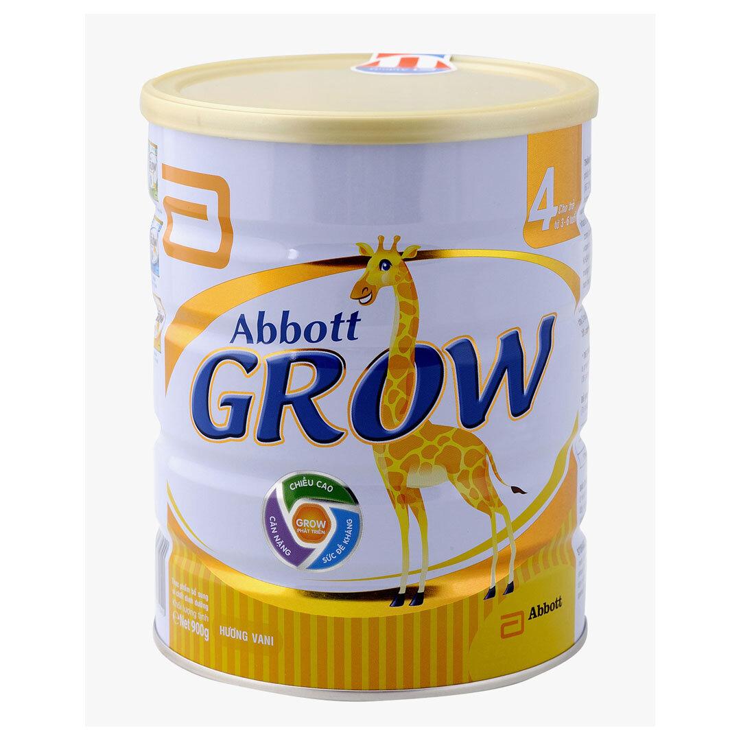 Bảng giá sữa bột Abbott Grow cập nhật tháng 12/2015