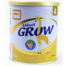 Bảng giá sữa bột Abbott Grow mới nhất cập nhật tháng 4/2016