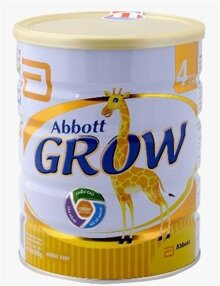 Bảng giá sữa bột Abbott Grow mới nhất cập nhật tháng 6/2016