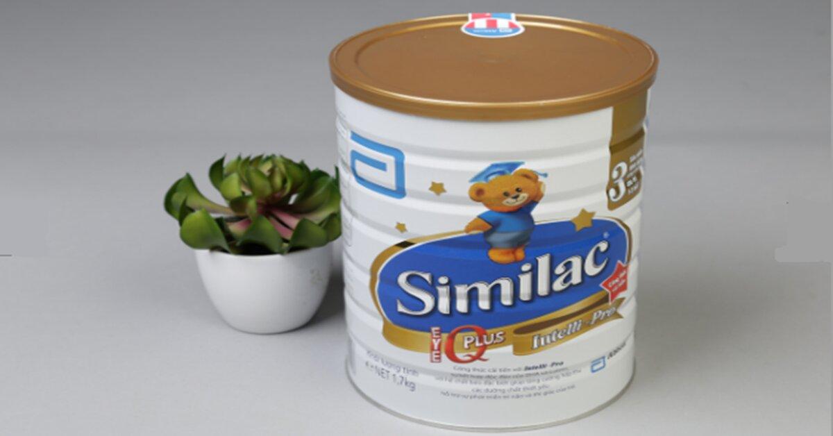 Bảng giá sữa bột Abbott Similac cập nhật tháng 5/2018