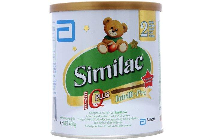 Bảng giá sữa bột Abbott Similac chính hãng trong tháng 8/2017