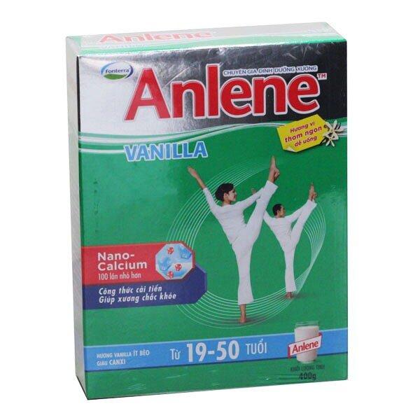 Bảng giá sữa bột Anlene cập nhật tháng 9/2016
