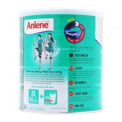 Bảng giá sữa bột Anlene mới nhất trong tháng 10/2017