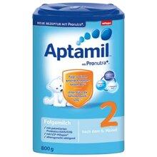 Bảng giá sữa bột Aptamil cập nhật tháng 12/2015