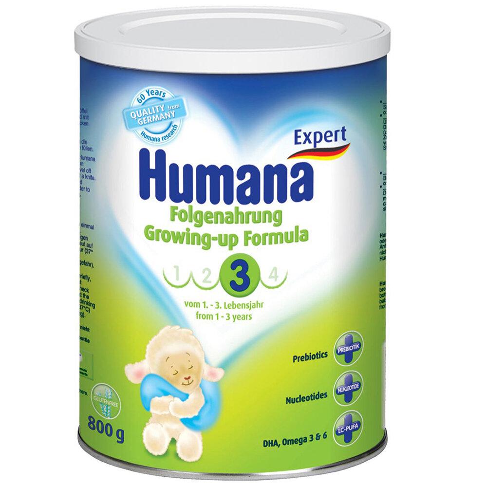 Bảng giá sữa bột, bột ăn dặm HUMANA mới nhất cập nhật tháng 4/2016
