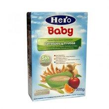 Bảng giá sữa bột, bột ăn dặm Hero Baby cập nhật tháng 9/2016