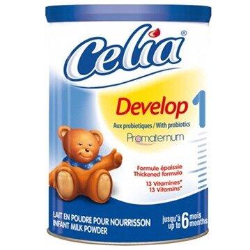 Bảng giá sữa bột Celia mới nhất cập nhật tháng 1/2016
