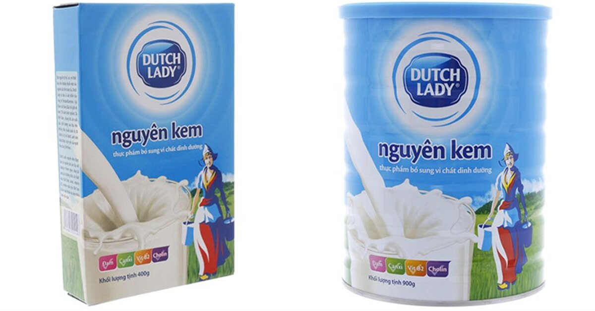 Bàng giá sữa bột Cô gái Hà Lan mới nhất cập nhật tháng 8/2018