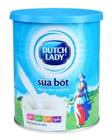 Bảng giá sữa bột Ductch Lady cập nhật tháng 9/2015