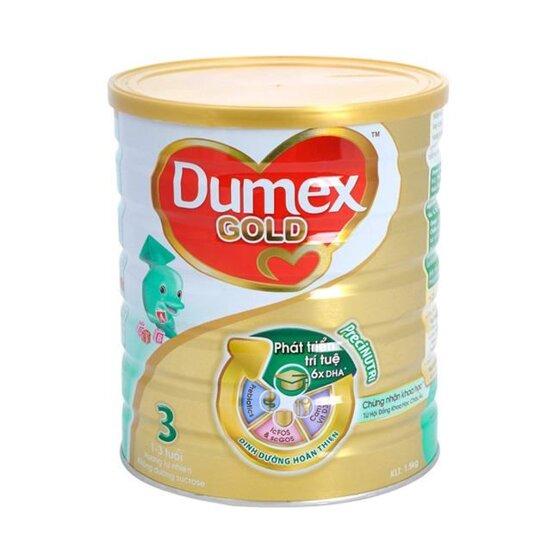 Bảng giá sữa bột Dumex cập nhật tháng 9/2016