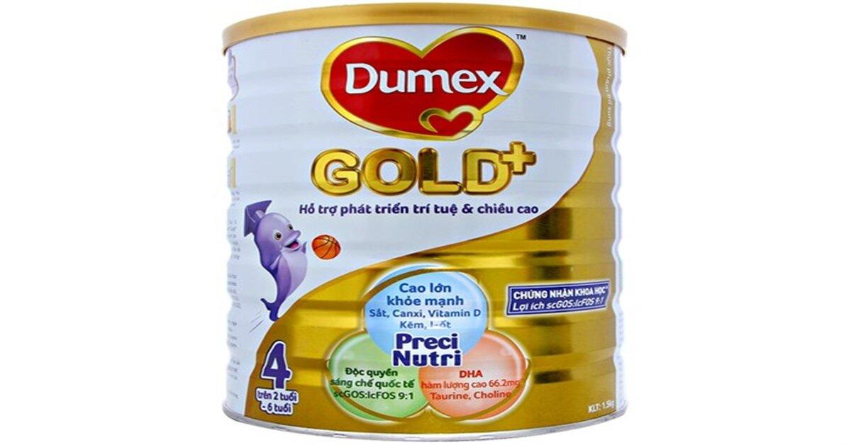 Bảng giá sữa bột Dumex mới nhất cập nhật tháng 5/2018
