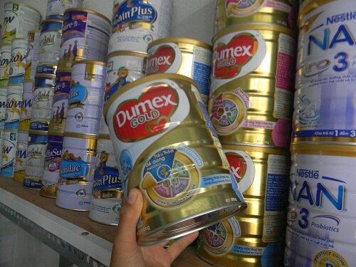 Bảng giá sữa bột Dumex mới nhất cập nhật tháng 4/2017