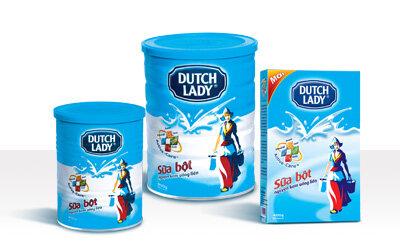 Bảng giá sữa bột DUTCH LADY mới nhất cập nhật tháng 2/2016