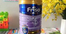 Bảng giá sữa bột Friso chính hãng cập nhật mới nhất tháng 4/2019