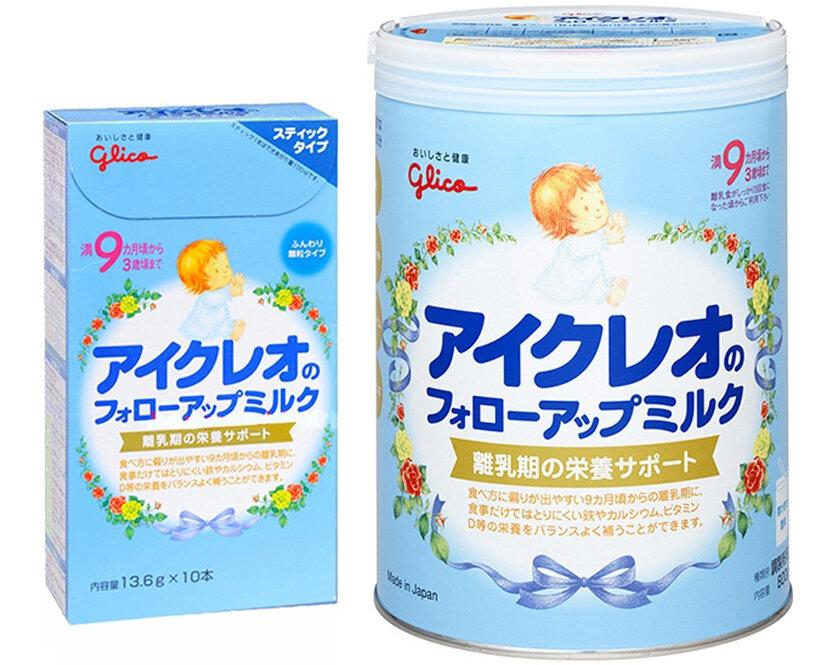 Bảng giá sữa bột Glico Icreo cập nhật mới nhất tháng 1/2017