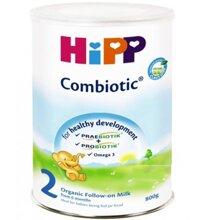 Bảng giá sữa bột Hipp cập nhật tháng 11/2016
