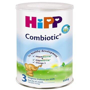 Bảng giá sữa bột HIPP mới nhất cập nhật tháng 1/2016
