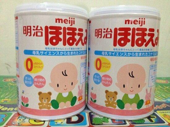 Bảng giá sữa bột Meiji cập nhật tháng 9/2015