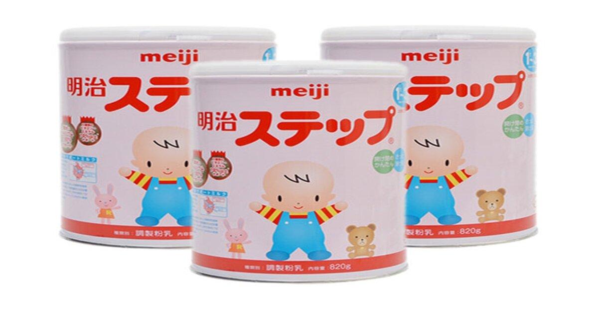 Bảng giá sữa bột Meiji cập nhật tháng 8/2018