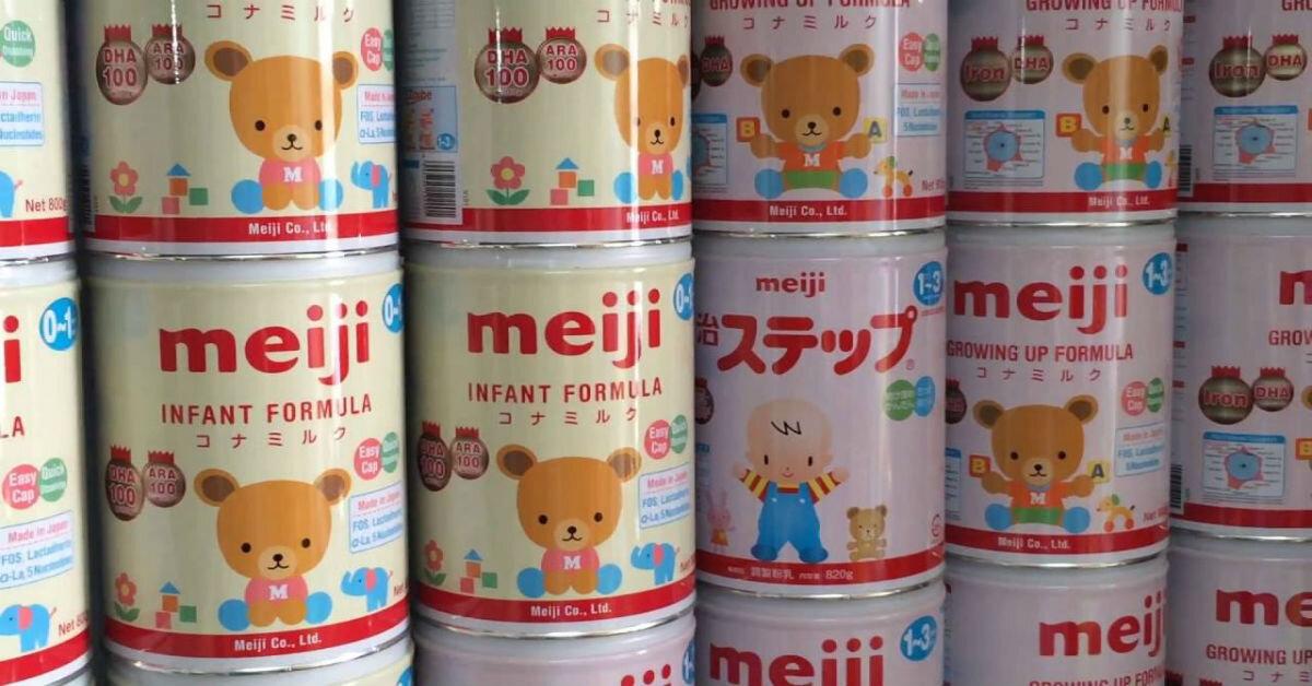 Bảng giá sữa bột Meiji mới nhất (11/2017)
