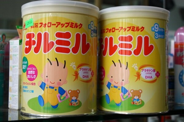 Bảng giá sữa bột Morinaga cập nhật tháng 9/2015