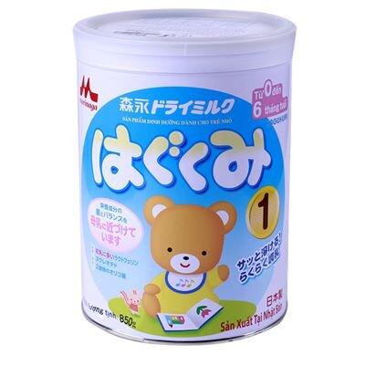 Bảng giá sữa bột Morinaga cập nhật tháng 12/2015