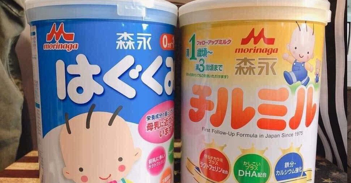Bảng giá sữa bột Morinaga cập nhật mới nhất tháng 4/2019