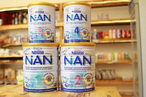 Bảng giá sữa bột Nan cập nhật tháng 3/2017