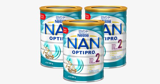 Bảng giá sữa bột Nan cập nhật tháng 10/2019