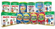 Bảng giá sữa bột Nutifood cập nhật mới nhất tháng 2/2018