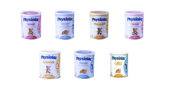 Bảng giá sữa bột Physiolac cập nhật tháng 10/2019