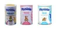 Bảng giá sữa bột Physiolac cập nhật tháng 12/2018