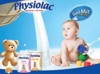 Bảng giá sữa bột Physiolac cập nhật tháng 12/2016