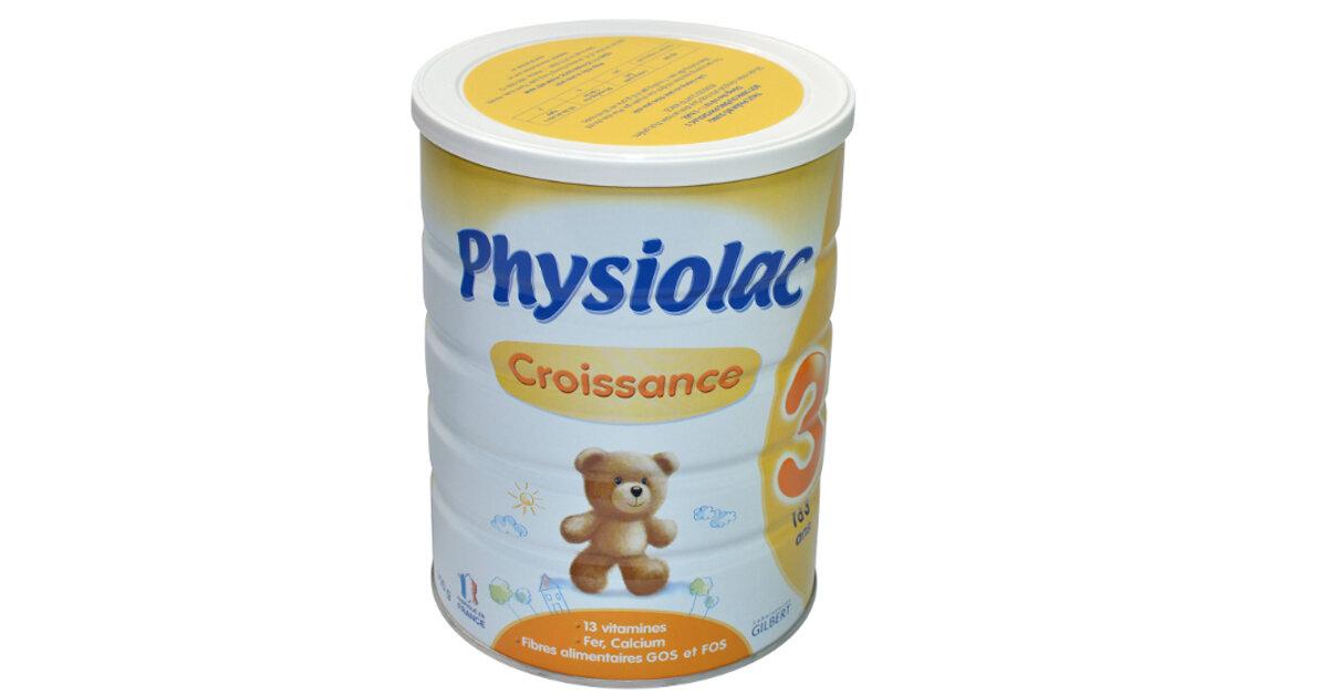 Bảng giá sữa bột Physiolac cập nhật tháng 2/2019