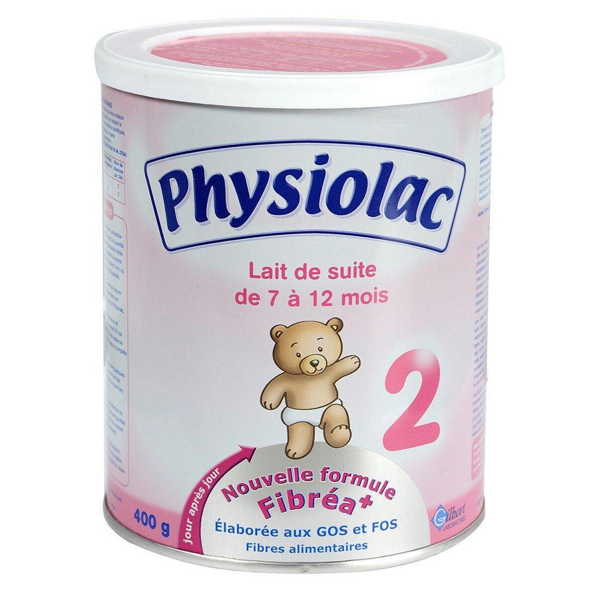 Bảng giá sữa bột Physiolac cập nhật tháng 9/2015