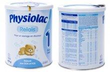 Bảng giá sữa bột Physiolac mới nhất cập nhật tháng 8/2016