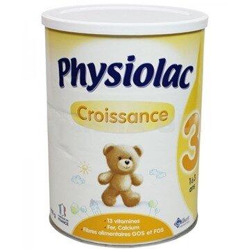 Bảng giá sữa bột Physiolac mới nhất cập nhật tháng 4/2016