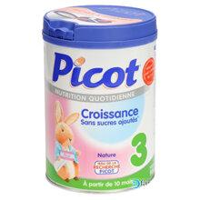 Bảng giá sữa bột Picot chính hãng trong tháng 8/2017