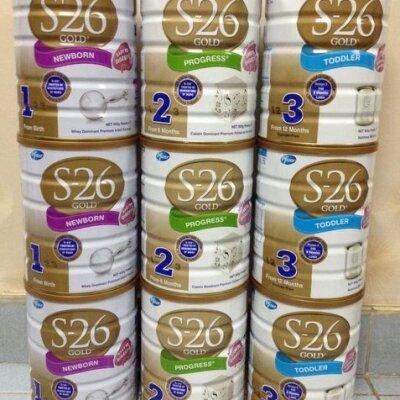 Bảng giá sữa bột S26 mới nhất trong tháng 10/2017