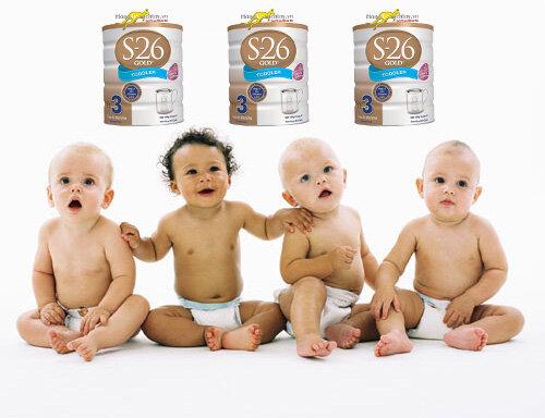 Bảng giá sữa bột S26 mới nhất cập nhật tháng 2/2017