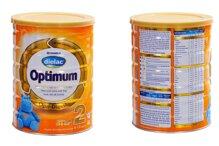 Bảng giá sữa bột Vinamilk Dielac Optimum cập nhật tháng 1/2017