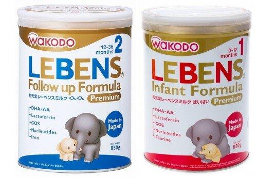 Bảng giá sữa bột Wakodo cập nhật tháng 8/2016