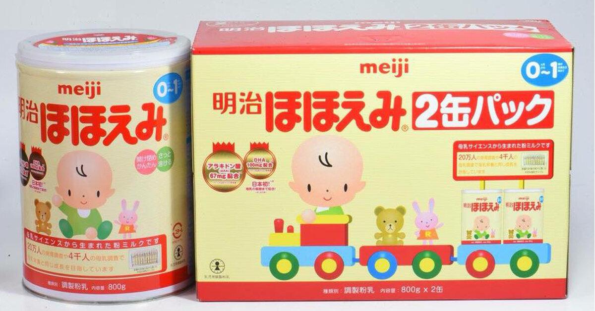 Bảng giá sữa Meiji cập nhật mới nhất tháng 3/2019