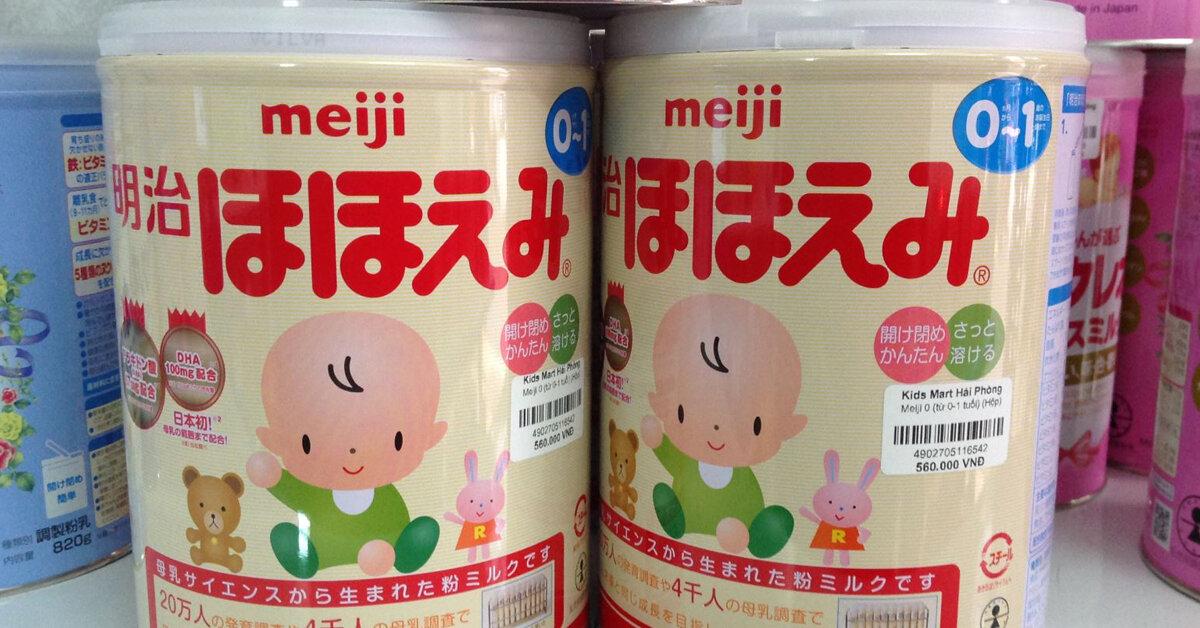Bảng giá sữa Meiji cập nhật mới nhất tháng 2/2019