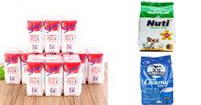 Bảng giá sữa tươi nguyên kem cập nhật tháng 12/2018