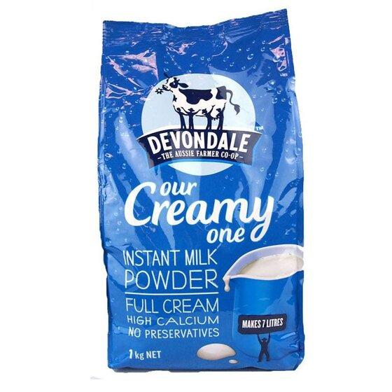Bảng giá sữa tươi nguyên kem cập nhật tháng 1/2018