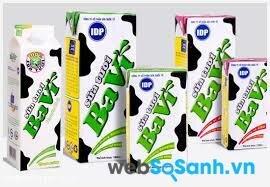 Bảng giá sữa tươi và sữa chua Ba Vì cập nhật 6/2015