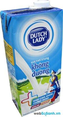 Bảng giá sữa tươi và sữa chua Dutch Lady cập nhật 6/2015