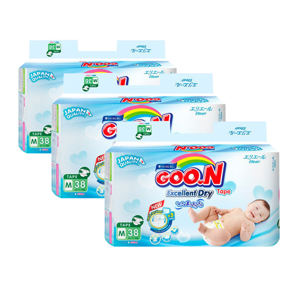 Bảng giá tã dán Goon cập nhật mới nhất trong tháng 1/2018