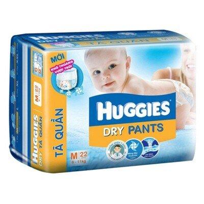 Bảng giá tã dán Huggies mới nhất (11/2017)
